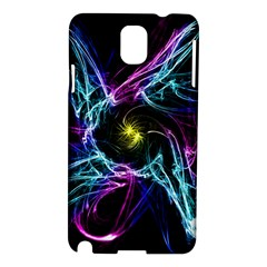 Abstract Art Color Design Lines Samsung Galaxy Note 3 N9005 Hardshell Case by Nexatart