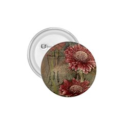 Flowers Plant Red Drawing Art 1 75  Buttons by Nexatart