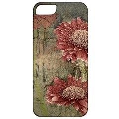 Flowers Plant Red Drawing Art Apple Iphone 5 Classic Hardshell Case by Nexatart
