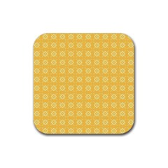Pattern Background Texture Rubber Square Coaster (4 Pack)  by Nexatart
