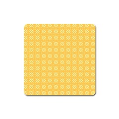 Pattern Background Texture Square Magnet by Nexatart
