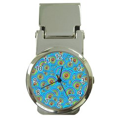 Digital Art Circle About Colorful Money Clip Watches by Nexatart