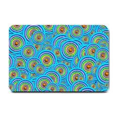 Digital Art Circle About Colorful Small Doormat  by Nexatart
