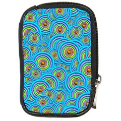 Digital Art Circle About Colorful Compact Camera Cases by Nexatart