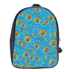 Digital Art Circle About Colorful School Bags (xl)  by Nexatart