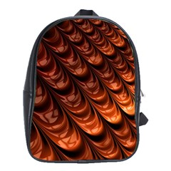 Fractal Mathematics Frax School Bags (xl)  by Nexatart