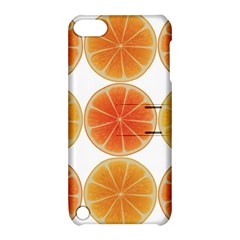 Orange Discs Orange Slices Fruit Apple Ipod Touch 5 Hardshell Case With Stand by Nexatart