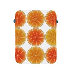 Orange Discs Orange Slices Fruit Apple Ipad 2/3/4 Protective Soft Cases by Nexatart