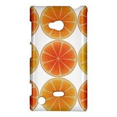 Orange Discs Orange Slices Fruit Nokia Lumia 720 by Nexatart