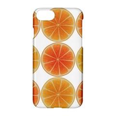 Orange Discs Orange Slices Fruit Apple Iphone 7 Hardshell Case by Nexatart