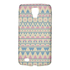 Blue And Pink Tribal Pattern Galaxy S4 Active by berwies