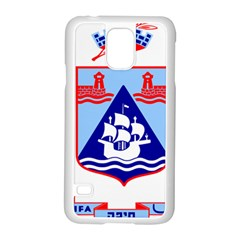 Haifa Coat Of Arms  Samsung Galaxy S5 Case (white) by abbeyz71