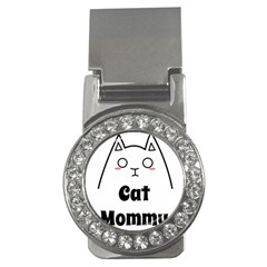 Love My Cat Mommy Money Clips (cz)  by Catifornia