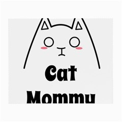 Love My Cat Mommy Small Glasses Cloth by Catifornia