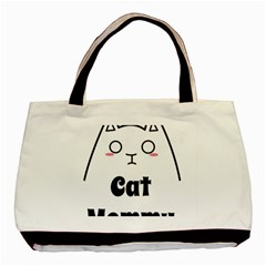 Love My Cat Mommy Basic Tote Bag (two Sides) by Catifornia