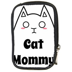 Love My Cat Mommy Compact Camera Cases by Catifornia