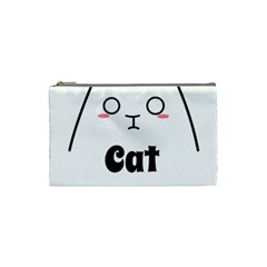 Love My Cat Mommy Cosmetic Bag (small)  by Catifornia