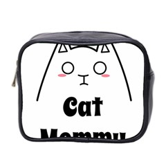 Love My Cat Mommy Mini Toiletries Bag 2 Side by Catifornia