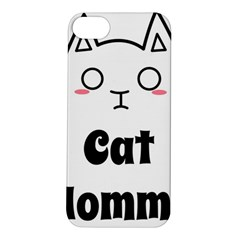 Love My Cat Mommy Apple Iphone 5s/ Se Hardshell Case by Catifornia