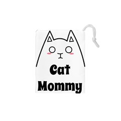 Love My Cat Mommy Drawstring Pouches (xs)  by Catifornia