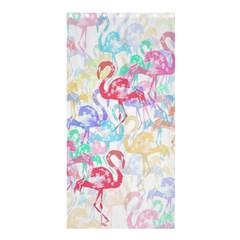 Flamingo Pattern Shower Curtain 36  X 72  (stall)  by Valentinaart