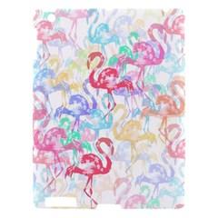 Flamingo Pattern Apple Ipad 3/4 Hardshell Case by Valentinaart