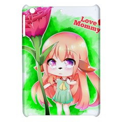 Happy Mother s Day Furry Girl Apple Ipad Mini Hardshell Case by Catifornia