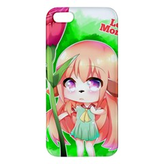 Happy Mother s Day Furry Girl Apple Iphone 5 Premium Hardshell Case by Catifornia
