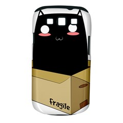 Black Cat In A Box Samsung Galaxy S Iii Classic Hardshell Case (pc+silicone) by Catifornia