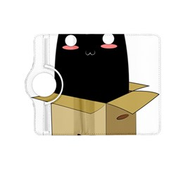 Black Cat In A Box Kindle Fire Hd (2013) Flip 360 Case by Catifornia