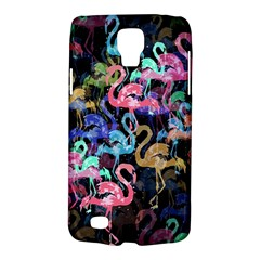 Flamingo Pattern Galaxy S4 Active by Valentinaart