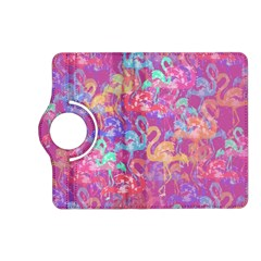 Flamingo Pattern Kindle Fire Hd (2013) Flip 360 Case by Valentinaart