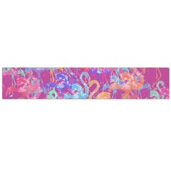 Flamingo Pattern Flano Scarf (large) by Valentinaart
