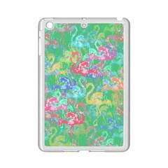 Flamingo Pattern Ipad Mini 2 Enamel Coated Cases by Valentinaart