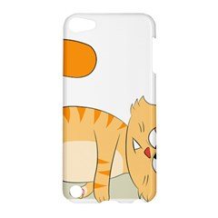 Even Cat Hates Monday Apple Ipod Touch 5 Hardshell Case by Catifornia