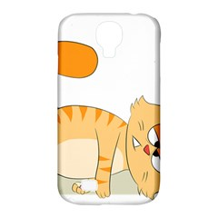 Even Cat Hates Monday Samsung Galaxy S4 Classic Hardshell Case (pc+silicone) by Catifornia