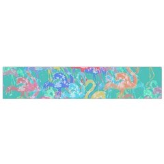 Flamingo Pattern Flano Scarf (small) by Valentinaart