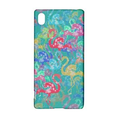 Flamingo Pattern Sony Xperia Z3+ by Valentinaart