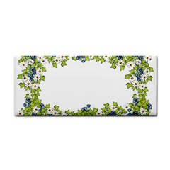 Birthday Card Flowers Daisies Ivy Cosmetic Storage Cases by Nexatart