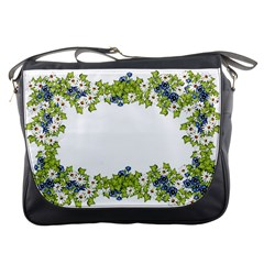 Birthday Card Flowers Daisies Ivy Messenger Bags