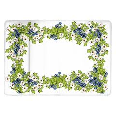 Birthday Card Flowers Daisies Ivy Samsung Galaxy Tab 10 1  P7500 Flip Case by Nexatart