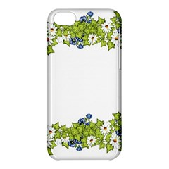 Birthday Card Flowers Daisies Ivy Apple Iphone 5c Hardshell Case by Nexatart