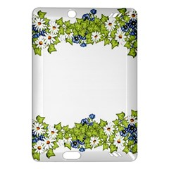 Birthday Card Flowers Daisies Ivy Amazon Kindle Fire Hd (2013) Hardshell Case by Nexatart