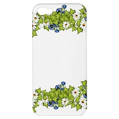 Birthday Card Flowers Daisies Ivy Apple Iphone 5 Hardshell Case by Nexatart