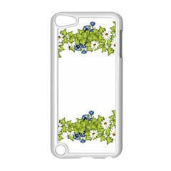 Birthday Card Flowers Daisies Ivy Apple Ipod Touch 5 Case (white) by Nexatart