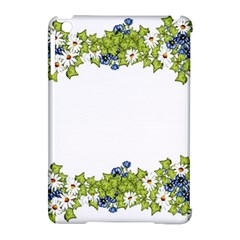 Birthday Card Flowers Daisies Ivy Apple Ipad Mini Hardshell Case (compatible With Smart Cover) by Nexatart