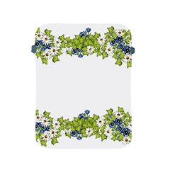 Birthday Card Flowers Daisies Ivy Apple Ipad 2/3/4 Protective Soft Cases by Nexatart