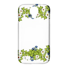 Birthday Card Flowers Daisies Ivy Samsung Galaxy S4 Classic Hardshell Case (pc+silicone) by Nexatart
