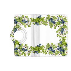 Birthday Card Flowers Daisies Ivy Kindle Fire Hd (2013) Flip 360 Case by Nexatart