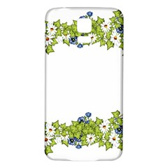 Birthday Card Flowers Daisies Ivy Samsung Galaxy S5 Back Case (white) by Nexatart